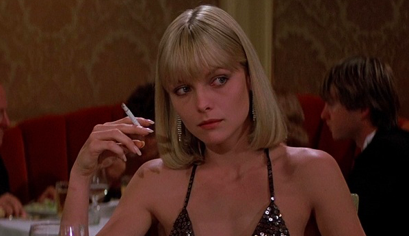 Michelle Pfeiffer, Scarface, Al Pacino, movies/tv