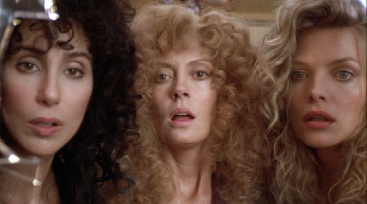 Witches of Eastwick, cher, Michelle Pfieffer, movies/tv