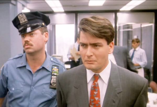 Wall Street, Michael Douglas, Charlie Sheen, movies/tv