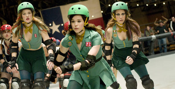 Whip It, roller derby, movies/tv