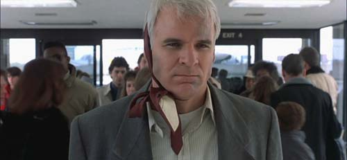 Planes Trains and Automobiles, Steve Martin, john hughes, airport, feminine, upset, celebs, movies/tv