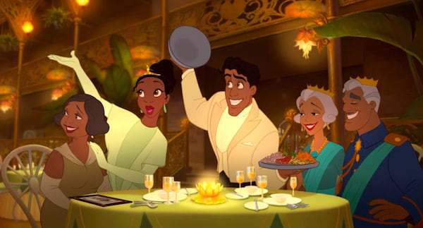 princess and the frog, movies/tv