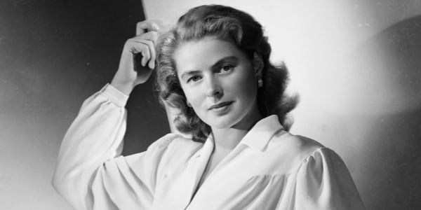 Ingrid Bergman, old hollywood, celebs