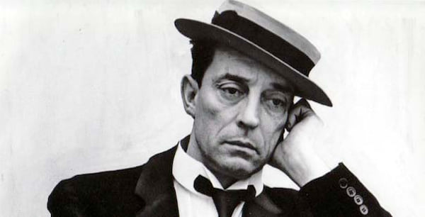 Buster Keaton, old hollywood, celebs