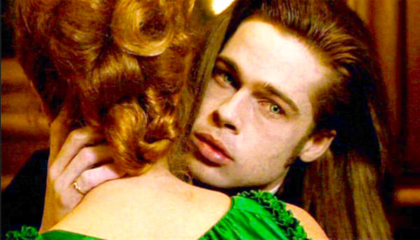 interview with a vampire, brad pitt, vampire, movies/tv, celebs