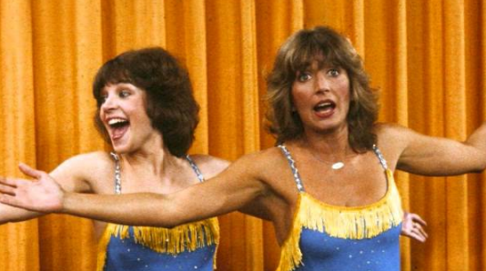 Laverne and Shirley, celebs, movies/tv