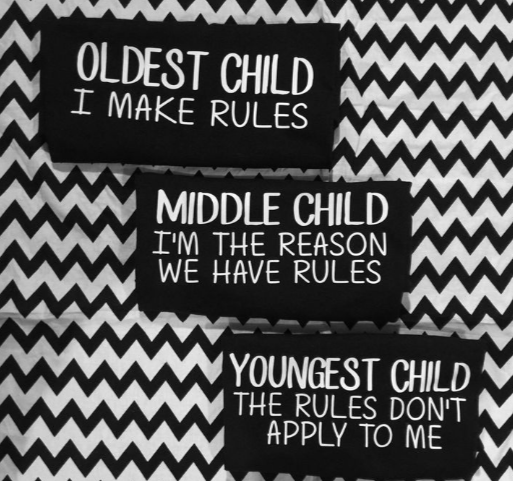 middle child, parenting, family