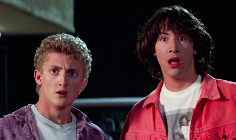 Bill & Ted's Excellent Adventure, movies/tv