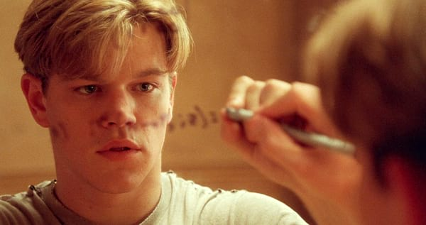 Matt Damon, Good Will Hunting, genius