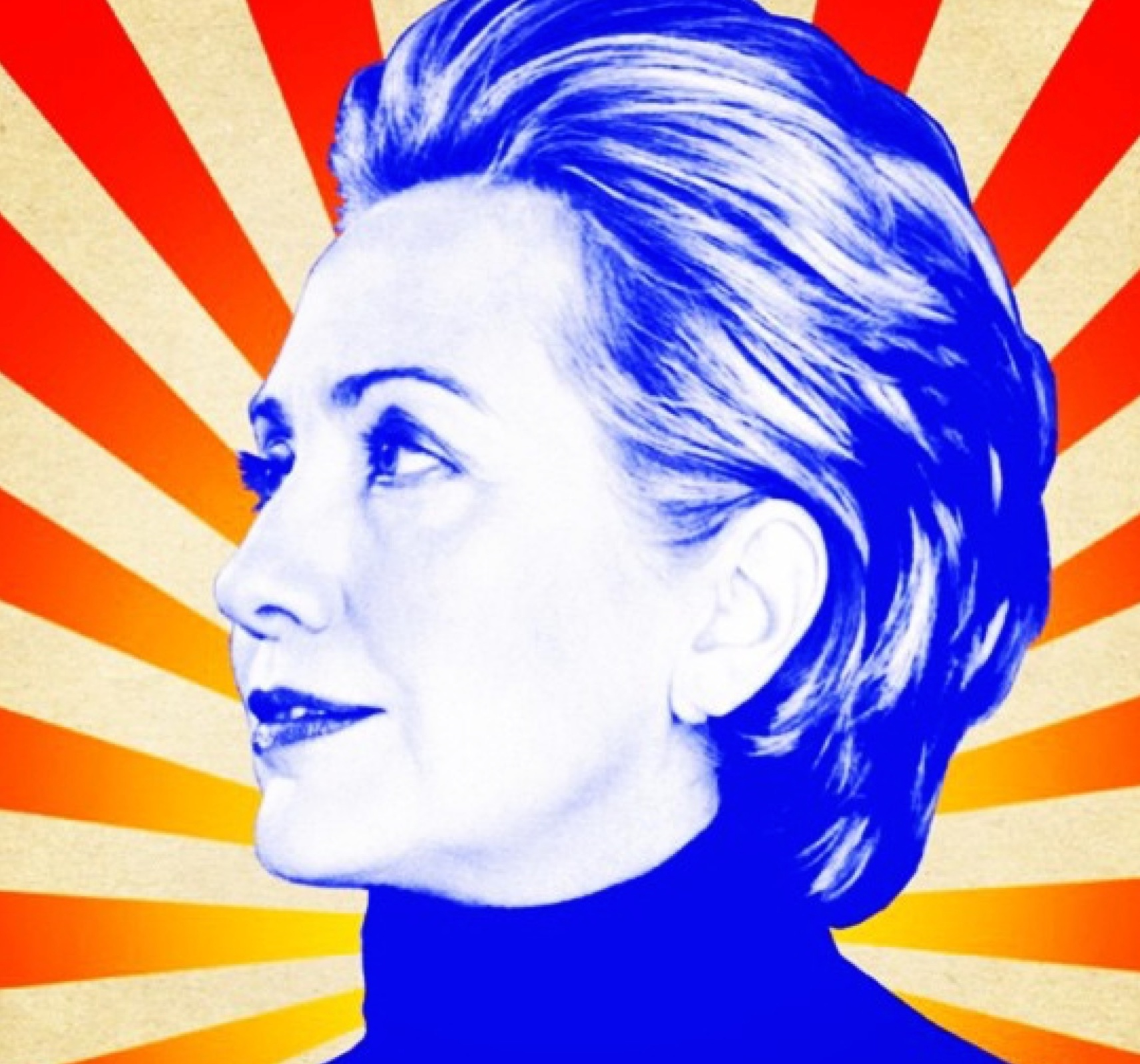 hillary clinton, pop art, politics