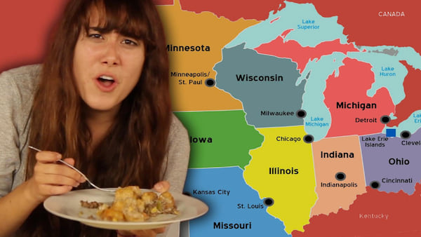 Midwest, food