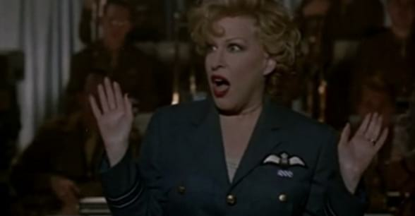 For the Boys, bette midler, movies/tv