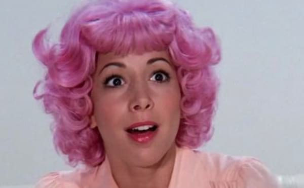 grease, 80s movies, pink, pink hair, movies/tv