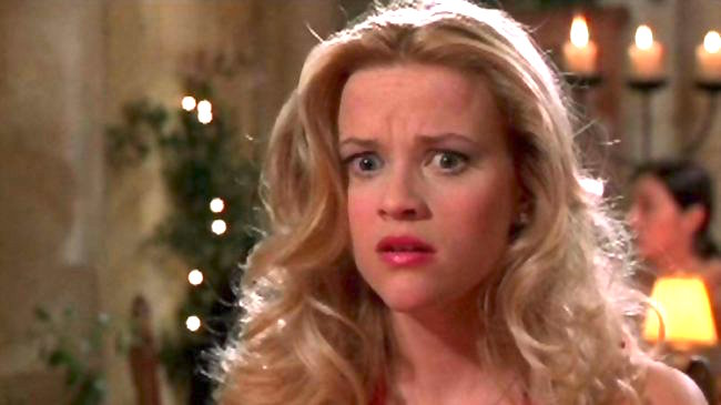 legally blonde, elle woods, reese witherspoon, movies/tv