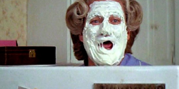 mrs. doubtfire, Robin Wiliams, Sally Feild, movies/tv