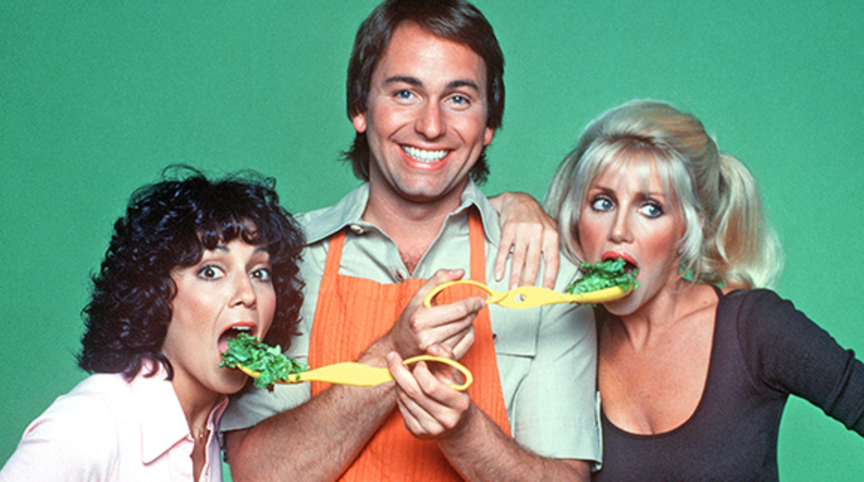 Three's Company, cast photo, 70s tv, movies/tv