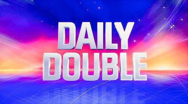 Daily Double, Jeopardy, movies/tv