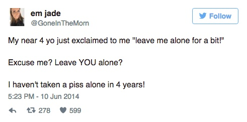 parenting, parenting tweets, Kids Are The Worst