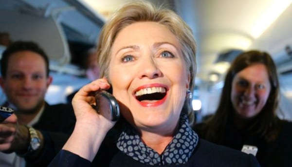 hillary clinton, phone, email