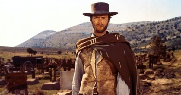 Clint Eastwood, Western, for a fistful of dollars