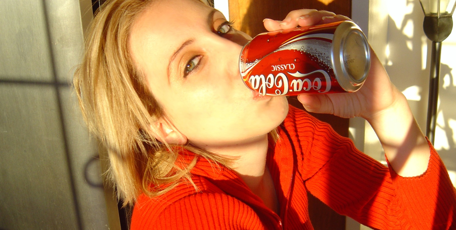 coca cola, drinks, red