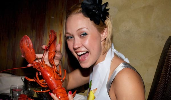 lobster, woman, Maine