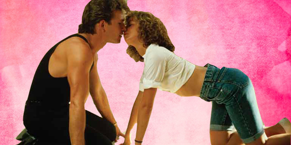 Dirty Dancing, water color, pop culture, movies/tv