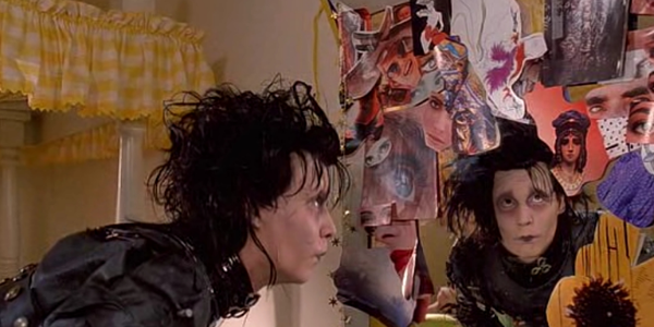 edward scissorhands, Tim Burton, johnny depp, celebs, movies/tv