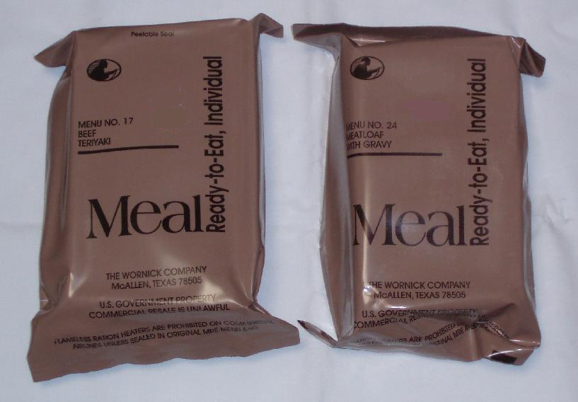 MRE, meal, military