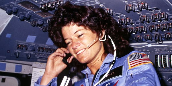 nasa, sally ride, space, science & tech