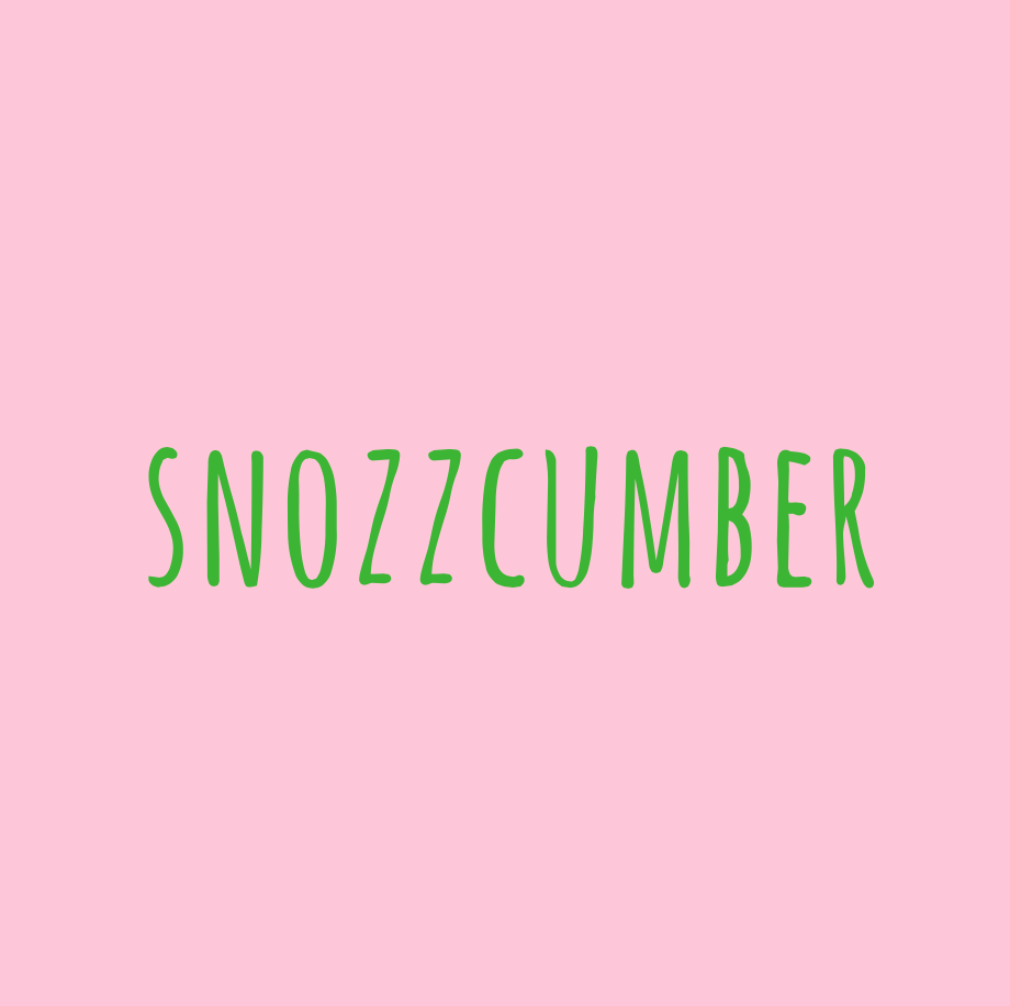 snozzcumber, books