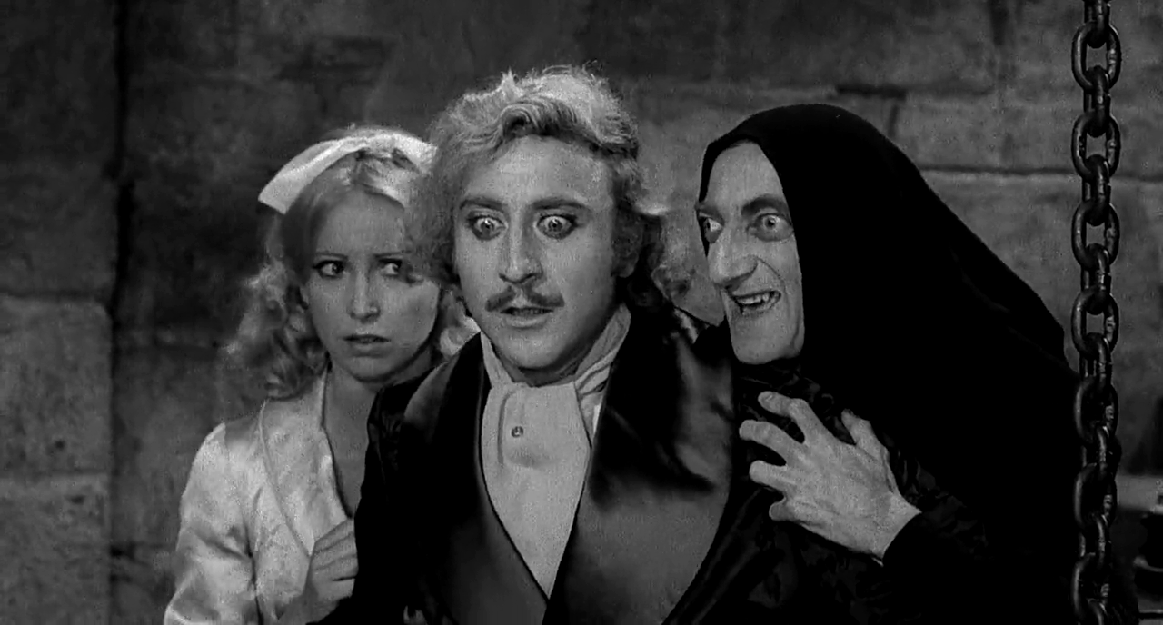 young frankenstein, gene wilder, movies/tv
