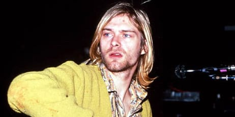 kurt cobain, Nirvana, celebs, pop culture, Music