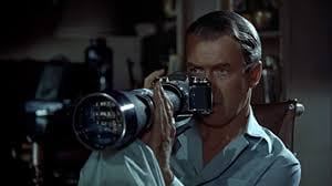 Alfred Hitchcock, Rear Window, Jimmy Stewart, movies/tv