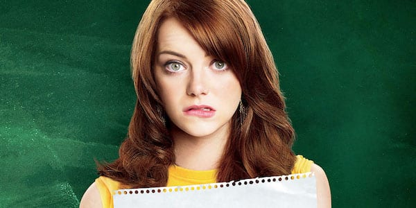 easy a, spelling, Emma Stone, celebs, movies/tv, school