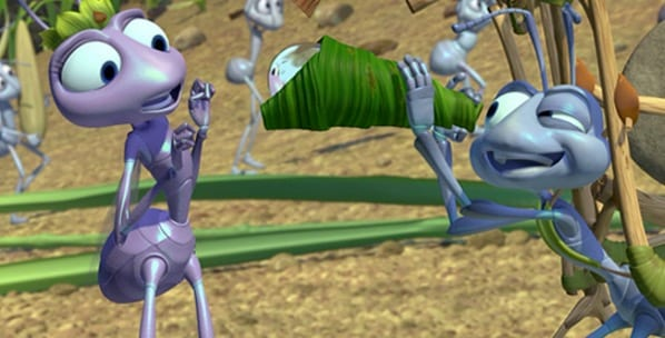 A Bug's Life, movies/tv