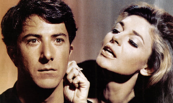 The Graduate, Dustin Hoffman, movies/tv