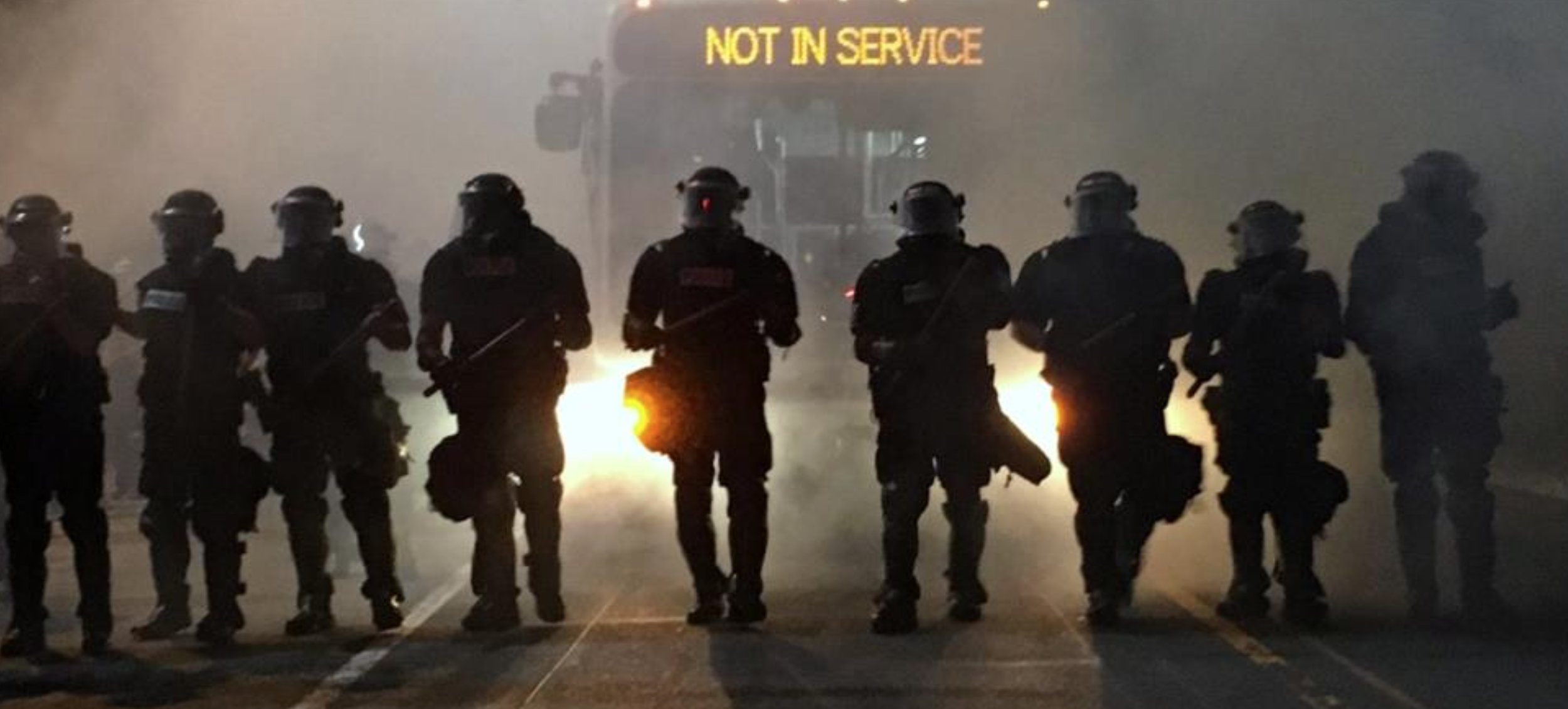 protests, riot gear, service