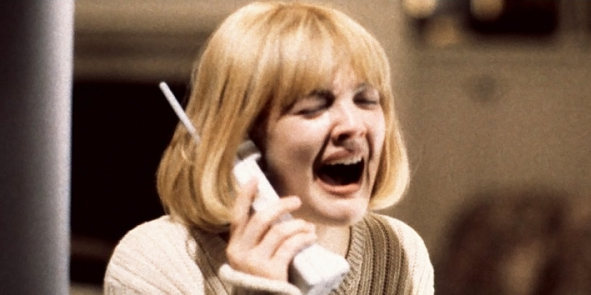 scream, drew barrymore
