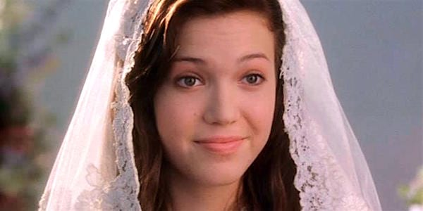 movies/tv, A Walk To Remember, Mandy Moore, wedding, married, bride