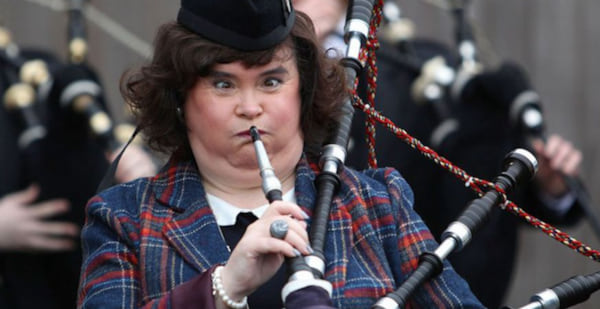 susan boyle, Music, UK, bagpipes