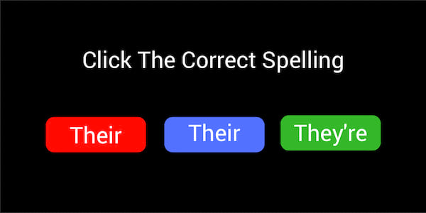 Quiz Their They Re There Can You Fill In The Blank With The