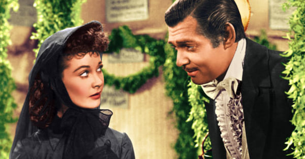 gone with the wind, southern belles, movies