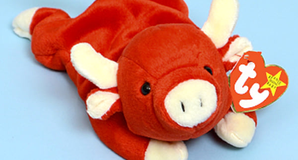 Beanie Babies, collectables, bull