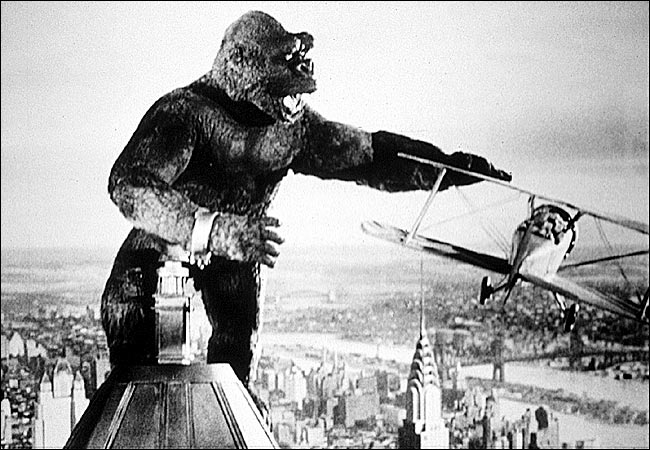 King Kong, movies/tv, pop culture