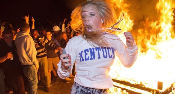 Kentucky, girl, fire