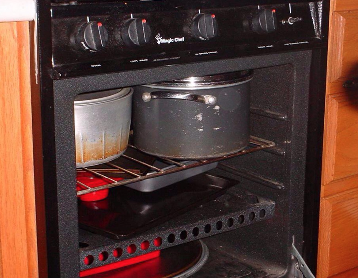 oven, cooking, cookware