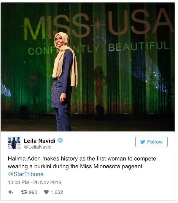 Halima Aden, pageant
