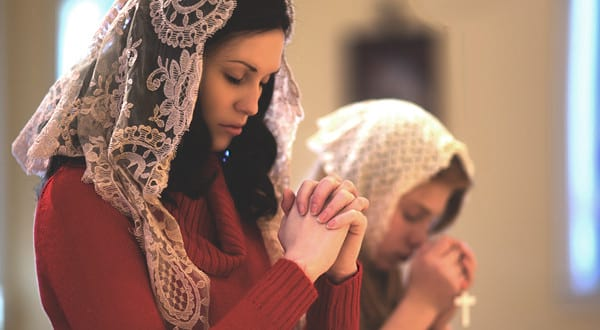 catholic, woman praying, prayer, pray, woman catholic, cross, religion, culture, home, politics