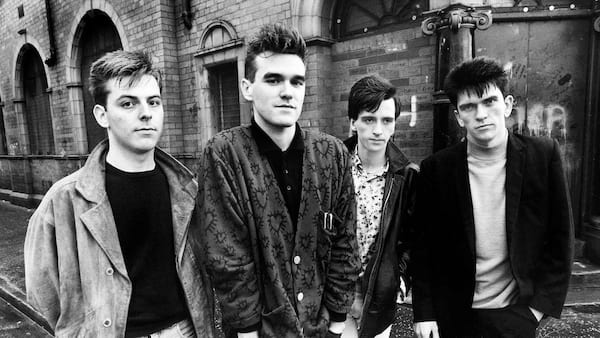The Smiths, punk rock, 1980s, black and white, celebs, Music, pop culture